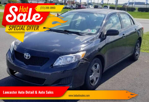 2009 Toyota Corolla for sale at Lancaster Auto Detail & Auto Sales in Lancaster PA
