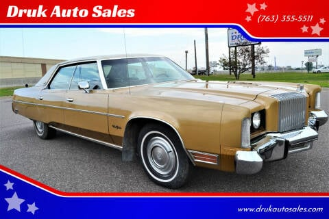 1976 Chrysler New Yorker for sale at Druk Auto Sales in Ramsey MN