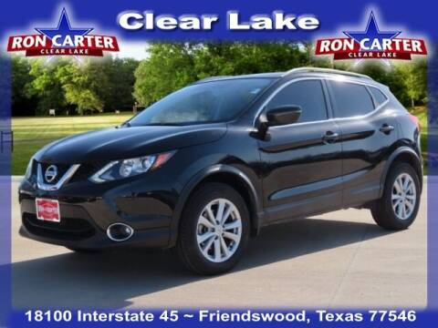 2017 Nissan Rogue Sport for sale at Ron Carter  Clear Lake Used Cars in Houston TX
