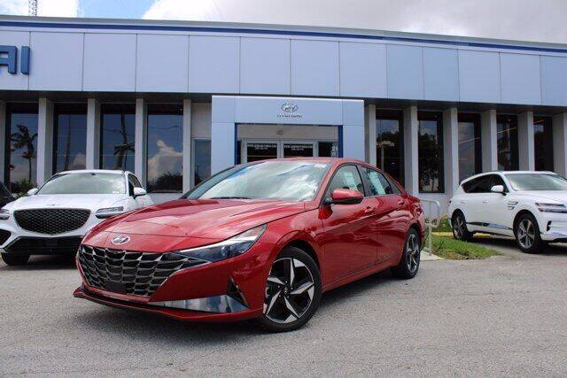 2021 Hyundai Elantra for sale in Miami, FL