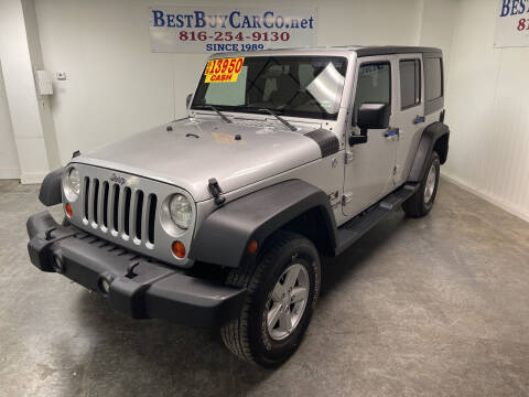 2008 Jeep Wrangler Unlimited for sale at Best Buy Car Co in Independence MO