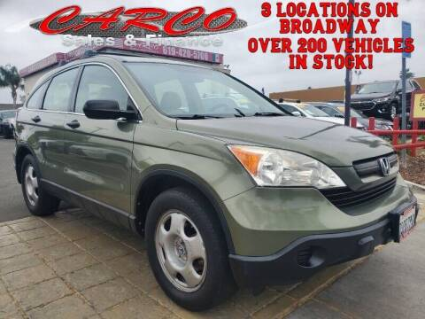 2009 Honda CR-V for sale at CARCO SALES & FINANCE - CARCO OF POWAY in Poway CA