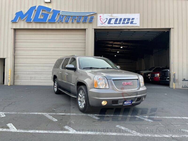 2012 GMC Yukon XL for sale at MGI Motors in Sacramento CA