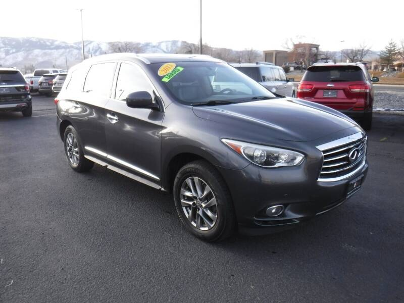 2013 Infiniti JX35 for sale at Budget Auto Sales in Carson City NV