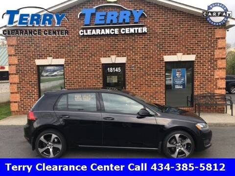 2015 Volkswagen Golf for sale at Terry Clearance Center in Lynchburg VA