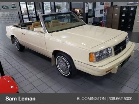 1986 Dodge 600 for sale at Sam Leman Mazda in Bloomington IL