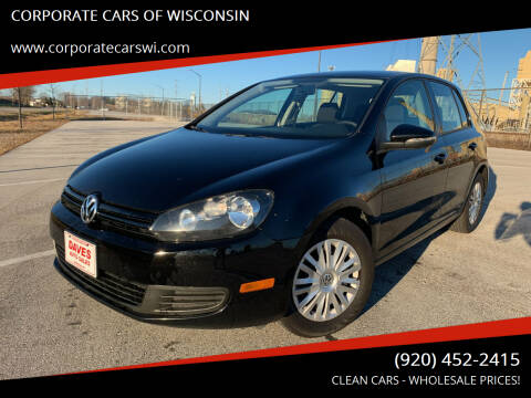 2013 Volkswagen Golf for sale at CORPORATE CARS OF WISCONSIN - DAVES AUTO SALES OF SHEBOYGAN in Sheboygan WI