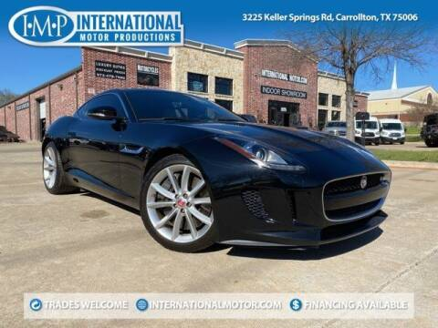 2015 Jaguar F-TYPE for sale at International Motor Productions in Carrollton TX