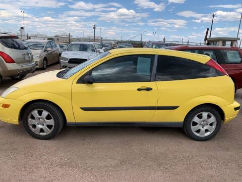 2001 Ford Focus for sale at PYRAMID MOTORS - Fountain Lot in Fountain CO