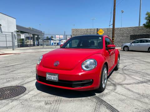 2013 Volkswagen Beetle for sale at FJ Auto Sales North Hollywood in North Hollywood CA