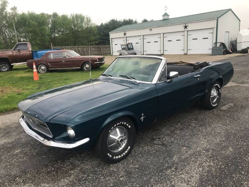 1967 Ford Mustang for sale at 500 CLASSIC AUTO SALES in Knightstown IN
