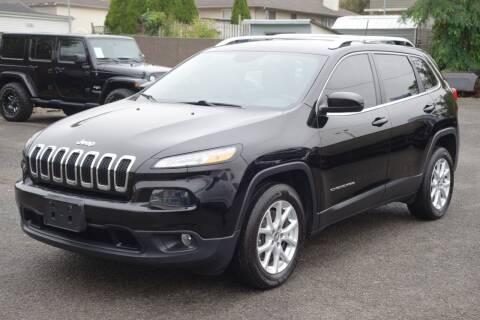 2017 Jeep Cherokee for sale at Olger Motors, Inc. in Woodbridge NJ