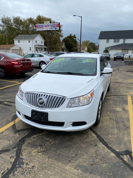 2010 Buick LaCrosse for sale at Dream Auto Sales in South Milwaukee WI