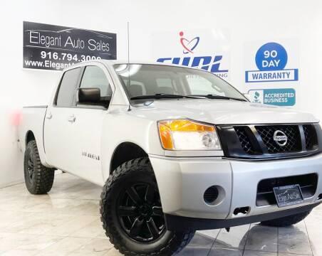 2015 Nissan Titan for sale at Elegant Auto Sales in Rancho Cordova CA