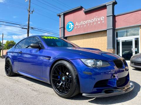 2013 BMW M3 for sale at Automotive Solutions in Louisville KY