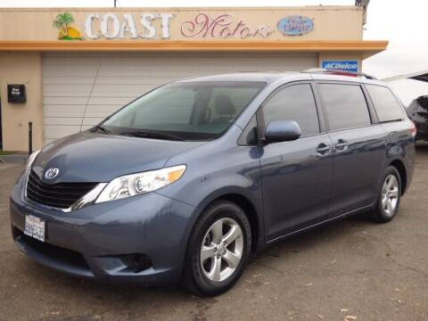 2014 Toyota Sienna for sale at Coast Motors in Arroyo Grande CA