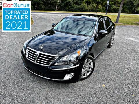 2013 Hyundai Equus for sale at Brothers Auto Sales of Conway in Conway SC