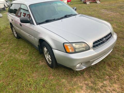2004 Subaru Outback for sale at Nash's Auto Sales Used Car Dealer in Milton FL