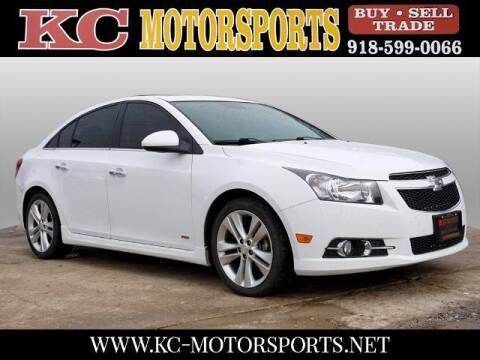 2014 Chevrolet Cruze for sale at KC MOTORSPORTS in Tulsa OK