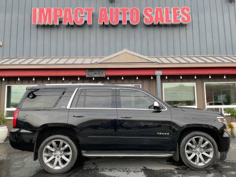 2015 Chevrolet Tahoe for sale at Impact Auto Sales in Wenatchee WA