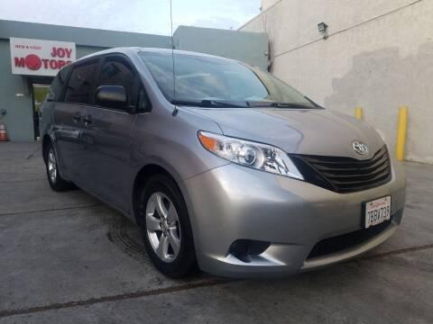 2013 Toyota Sienna for sale at Joy Motors in Los Angeles CA