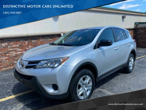 2013 Toyota RAV4 for sale at DISTINCTIVE MOTOR CARS UNLIMITED in Johnston RI