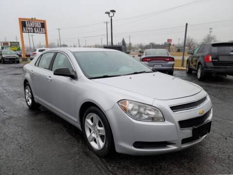 2011 Chevrolet Malibu for sale at Samford Auto Sales in Riverview MI