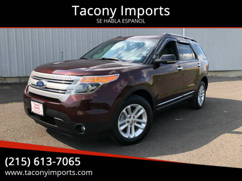 2012 Ford Explorer for sale at Tacony Imports in Philadelphia PA