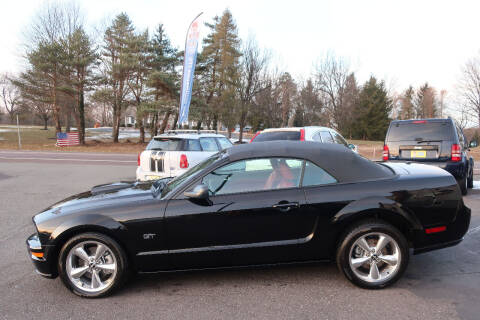 2007 Ford Mustang for sale at GEG Automotive in Gilbertsville PA