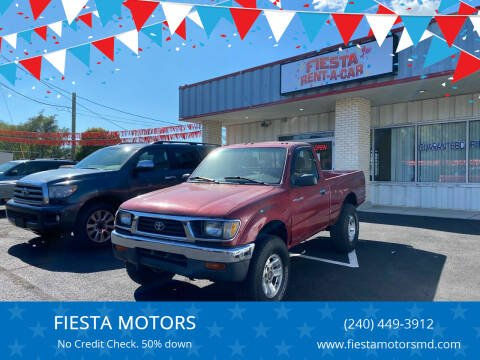 1997 Toyota Tacoma for sale at FIESTA MOTORS in Hagerstown MD
