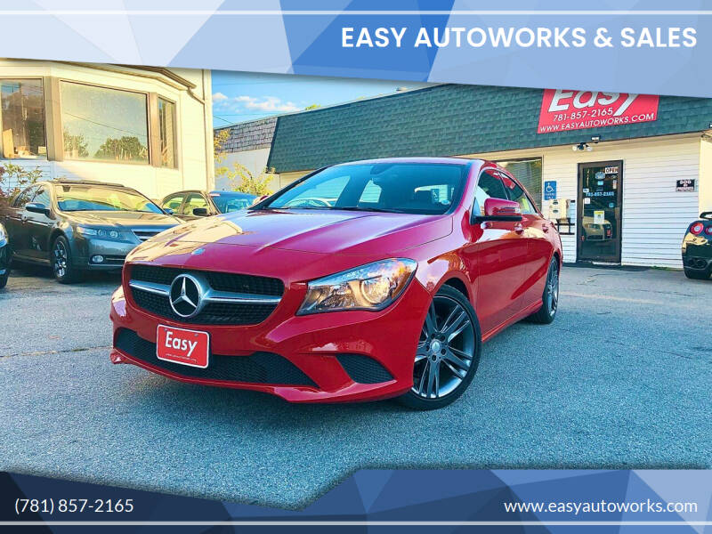 2015 Mercedes-Benz CLA for sale at Easy Autoworks & Sales in Whitman MA