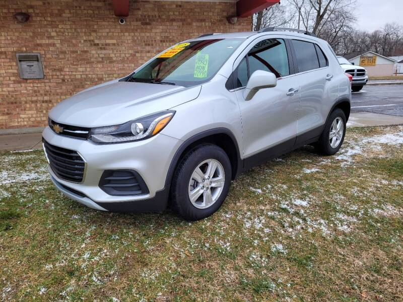 2018 Chevrolet Trax for sale at Murdock Used Cars in Niles MI