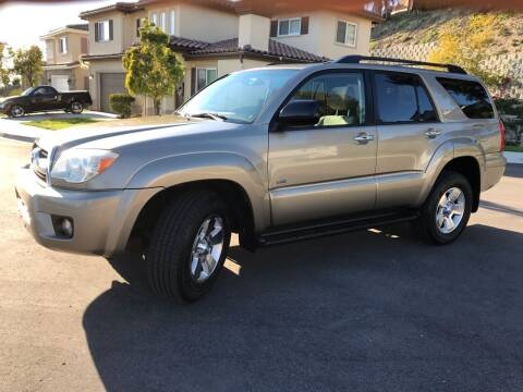 2007 Toyota 4Runner for sale at CALIFORNIA AUTO GROUP in San Diego CA