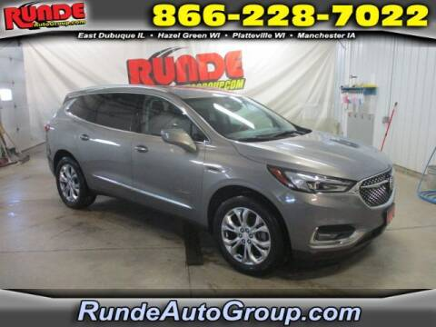 2018 Buick Enclave for sale at Runde Chevrolet in East Dubuque IL