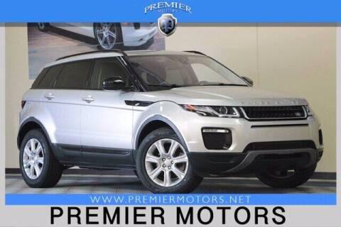 2017 Land Rover Range Rover Evoque for sale at Premier Motors in Hayward CA
