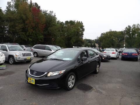 2014 Honda Civic for sale at United Auto Land in Woodbury NJ
