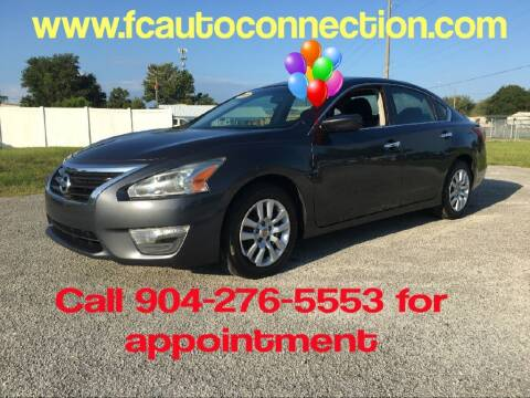 2013 Nissan Altima for sale at First Coast Auto Connection in Orange Park FL