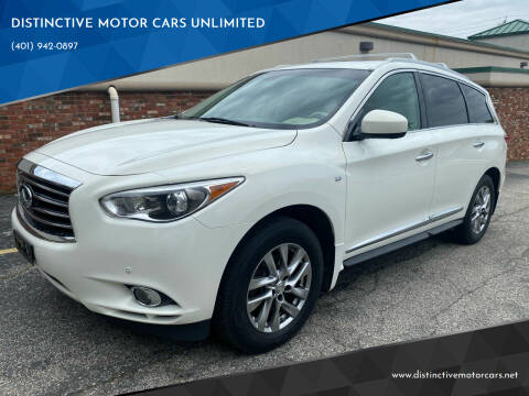2014 Infiniti QX60 for sale at DISTINCTIVE MOTOR CARS UNLIMITED in Johnston RI