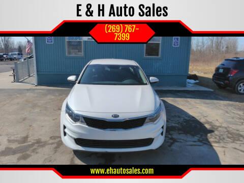 2017 Kia Optima for sale at E & H Auto Sales in South Haven MI