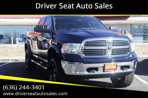 2014 RAM Ram Pickup 1500 for sale at Driver Seat Auto Sales in St. Charles MO