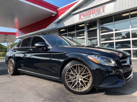 2015 Mercedes-Benz C-Class for sale at Furrst Class Cars LLC in Charlotte NC