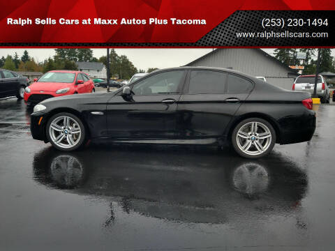 2013 BMW 5 Series for sale at Ralph Sells Cars at Maxx Autos Plus Tacoma in Tacoma WA