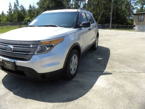 2014 Ford Explorer for sale at VANN'S AUTO MART in Jesup GA
