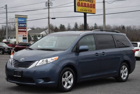 2016 Toyota Sienna for sale at Broadway Garage of Columbia County Inc. in Hudson NY