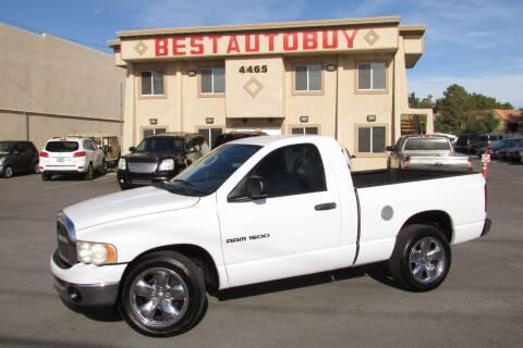 2004 Dodge Ram Pickup 1500 for sale at Best Auto Buy in Las Vegas NV