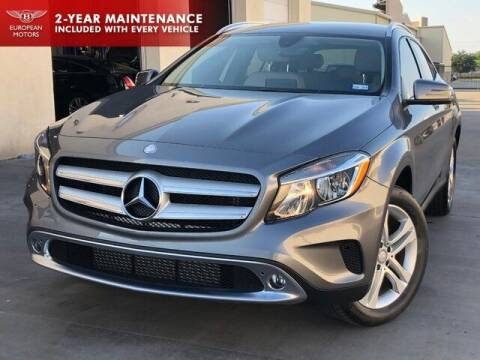 2016 Mercedes-Benz GLA for sale at European Motors Inc in Plano TX