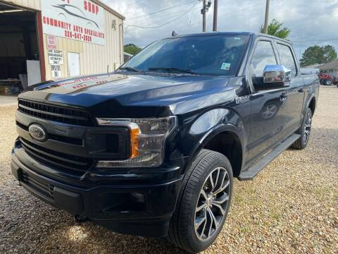 2020 Ford F-150 for sale at Community Auto Specialist in Gonzales LA