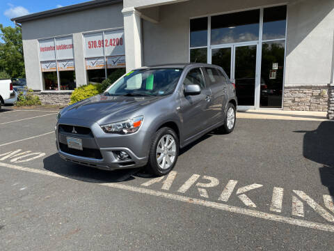 2012 Mitsubishi Outlander Sport for sale at Keystone Used Auto Sales in Brodheadsville PA