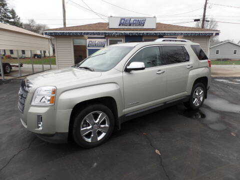 2015 GMC Terrain for sale at DeLong Auto Group in Tipton IN