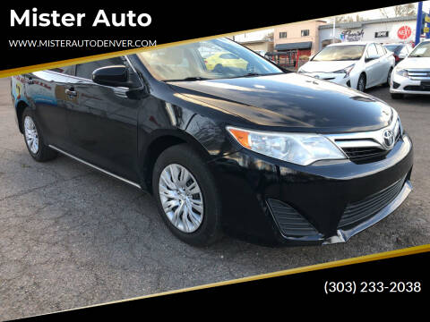 2014 Toyota Camry for sale at Mister Auto in Lakewood CO